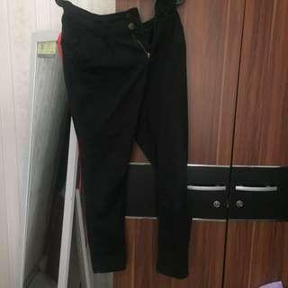 celana hitam black jeans pants trouser