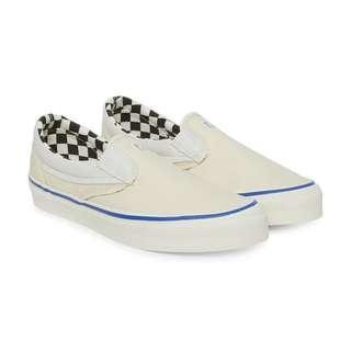 ef6a173747 Vans Vault UA OG Slip-On LX Inside Out cream white marshmallow checkerboard