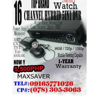 16 Channel Hybrid 5in1 DVR SALE!!