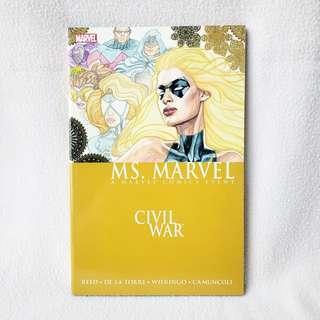 Ms. Marvel Vol. 2: Civil War (Marvel Comics, 2007) - NM