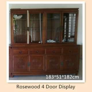 🚚 Rosewood 4 Door Display