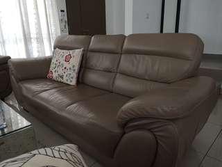 One 3 seater sofa + one 2 seater Sofa