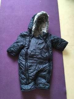 Mothercare snowsuit 3-6 months 滑雪連身衣 保暖 3-6個月