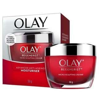 Olay Microsculpting Cream Moisturiser Night 50g
