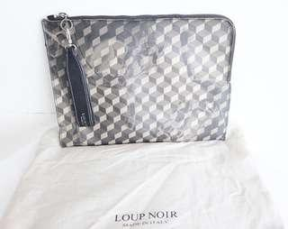 Authentic preloved loup noir clutch