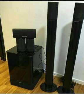 Harman kardon 5.1 Sound System HKTS 7 + 2 Unit Stand Home Theater speaker system