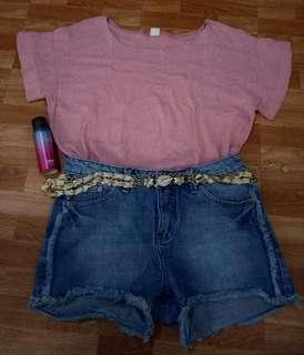 Korean Blouse (pink)