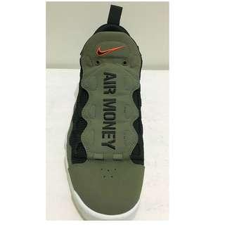 Nike Air More Money Olive Green Black Mens Basketball Shoes