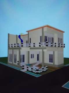 Rumah Minimalis 3 lantai MURAH