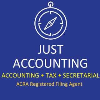 Bookkeeping, Accounting, Tax, GST Filing, XBRL Filing, Compilation, Financial Report, Consolidation, Corporate Service Provider