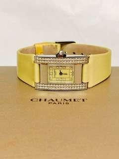Chaumet Rectangular Diamond watch(W0360)