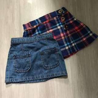 Next skirts x 2