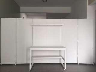 Desk Cabinet + Divider