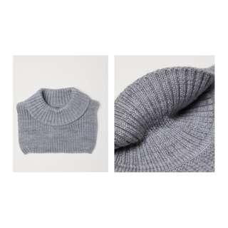 H&M 100% Wool Collar - Free Size