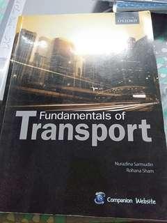 Fundamental of transportation