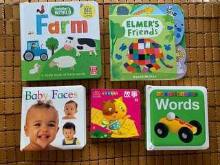 Baby & toddler board book #idotrade