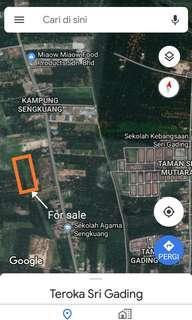 Freehold, Zon Industri, Sri Gading, Batu Pahat, Johor