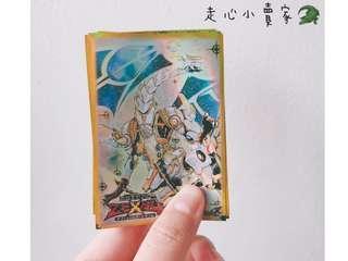 日本🇯🇵 遊☆戯☆王ZEXAL 正版 卡片保護套 卡套 保護套 / 一組 50入