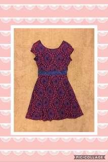 A Line Lace Dress