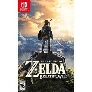 Zelda Breath Of The Wild (Trade only)