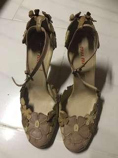 🚚 Preloved/Authentic Miu Miu high heels strap sandal