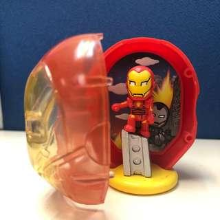Marvel Iron Man 2012 toy / figure 漫威鐵甲奇俠鋼鐵俠鋼鉄俠小玩具/模型 復活節 復活蛋 Easter