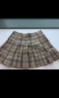 NEW Tartan Mini Skirt