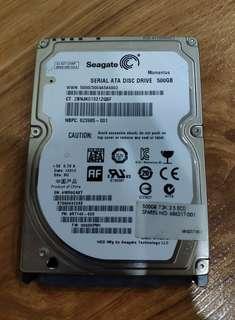 Seagate HDD Laptop 500GB