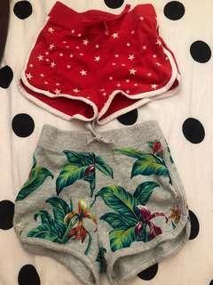 Gap女童運動短褲(2條一起賣)