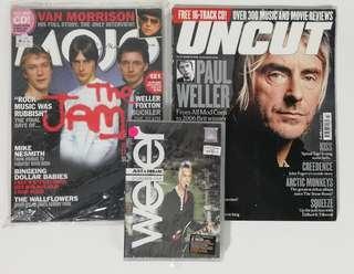 The Jam Paul weller combo magazine n dvd