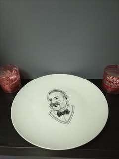 Hipster Ceramic plate 27cm dia.
