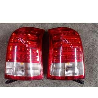 Toyota Wish ZNE10 4 Line LED Tail Lamp PN: Ichikoh 68-14