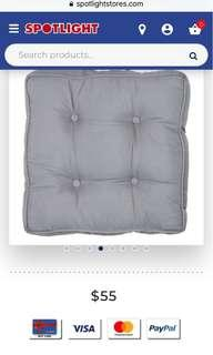 Spotlight Living Space Ikon Plain Floor Cushion