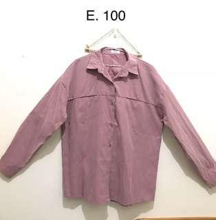 🚚 藕粉色襯衫
