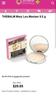 The Balm Cosmetics - Mary-Lou Manizer Highlighter