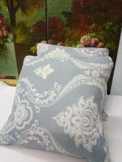 特價僅2件全新進口歐美電腦織花棉布製 抱枕套 背靠45cmX45cm cushion covers 高貴時尚家居裝飾用