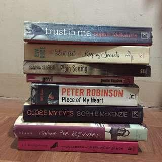 Assorted Books! 60php each