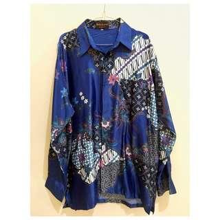 Kemeja Batik Lengan Panjang (High Quality)