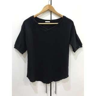 🚚 GU 黑色短衫