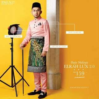 Baju Melayu Elrah Luxe 2.0