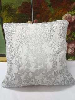 特價僅1件 💝為自己換個好心情💝全新歐美織花棉布製 抱枕套 背靠 45cm X45cm cushion cover 高貴獨特時尚