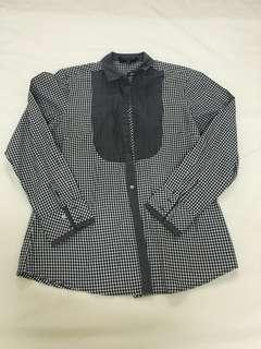 Formal Checkered Shirt