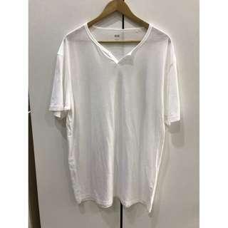 Uniqlo 白色T-shirt XL