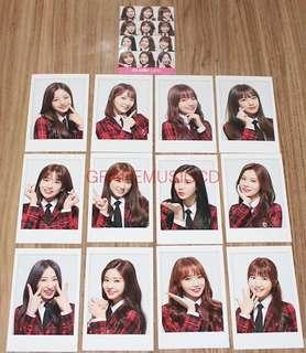 [Wts] IZ*ONE Izone Skoolooks Official Photocards