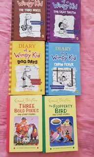🚚 Diary of wimp books