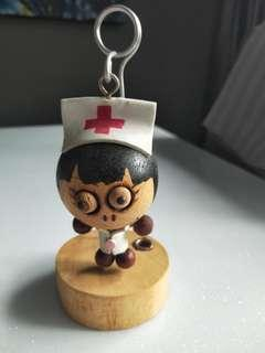 Nurse wood decoration