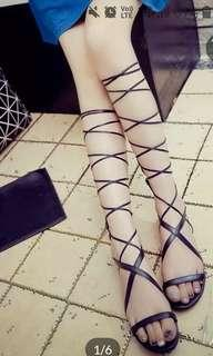 Roman flat heels(wear once99%new)