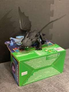 Toothless figure sealed