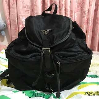 Prada back pack