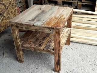 TABLE and RACK (Art Pine)